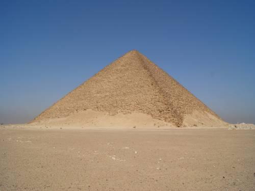 Розовая пирамида Снофру